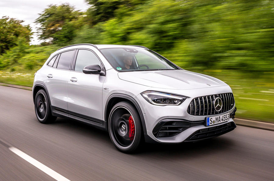 Mercedes-AMG GLA 45 S Plus 2020 road test review - hero front