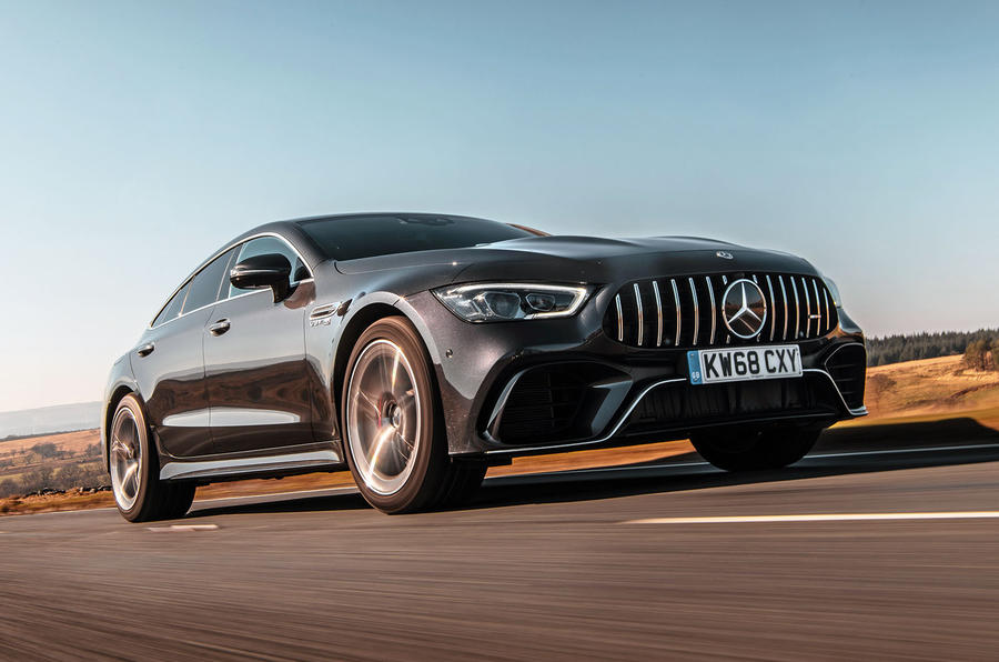 Mercedes-AMG GT Four-door Coupé 2019 road test review - hero front