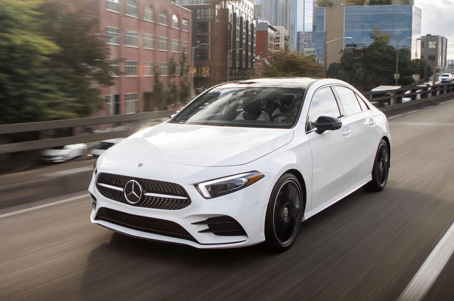 mercedes benz a class saloon review 2019 autocar. Black Bedroom Furniture Sets. Home Design Ideas