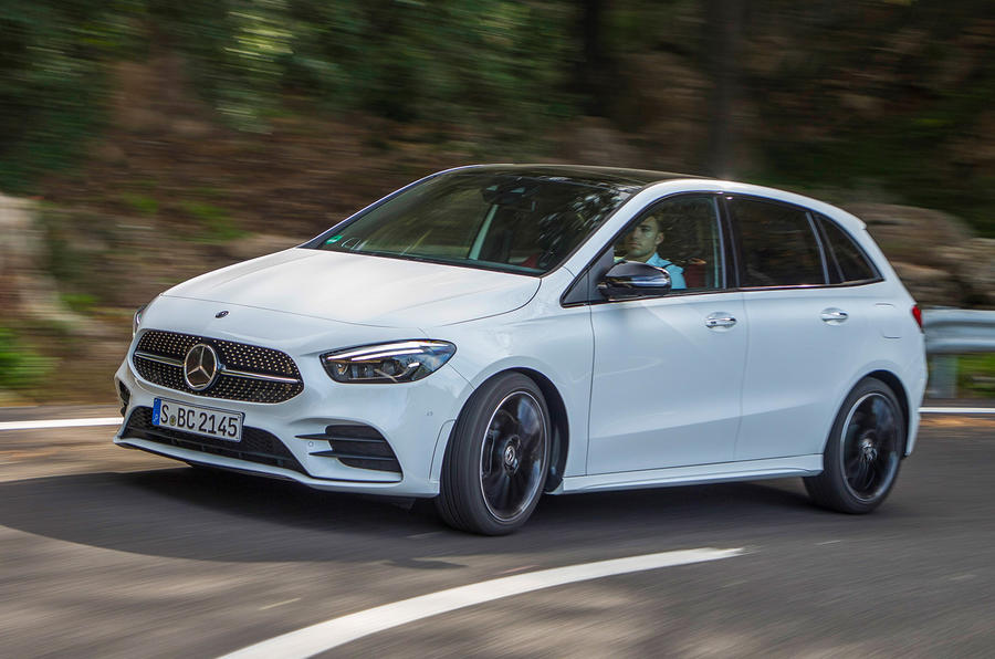 Mercedes-Benz B-Class review - hero front