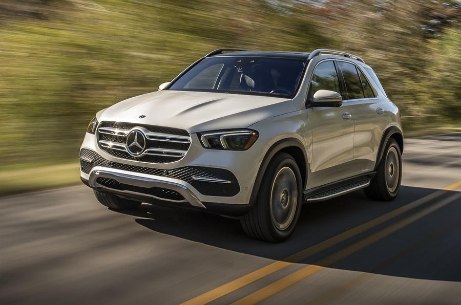 Mercedes-Benz GLE 2018 review - hero front