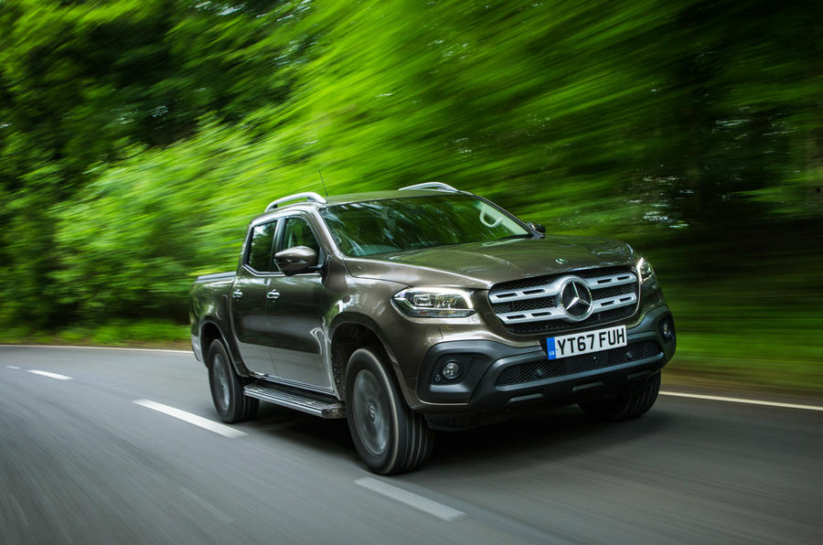 Mercedes-Benz X-Class road test review hero front