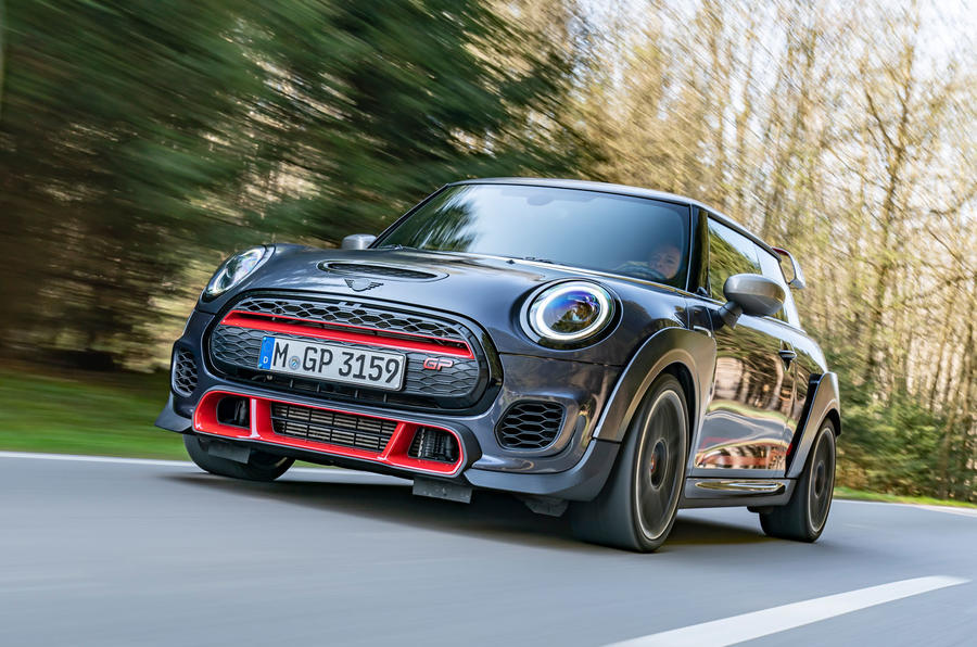 Mini JCW GP 2020 road test review - hero front