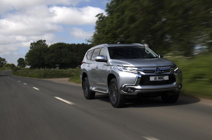 Mitsubishi Shogun Sport 2018 road test review hero front