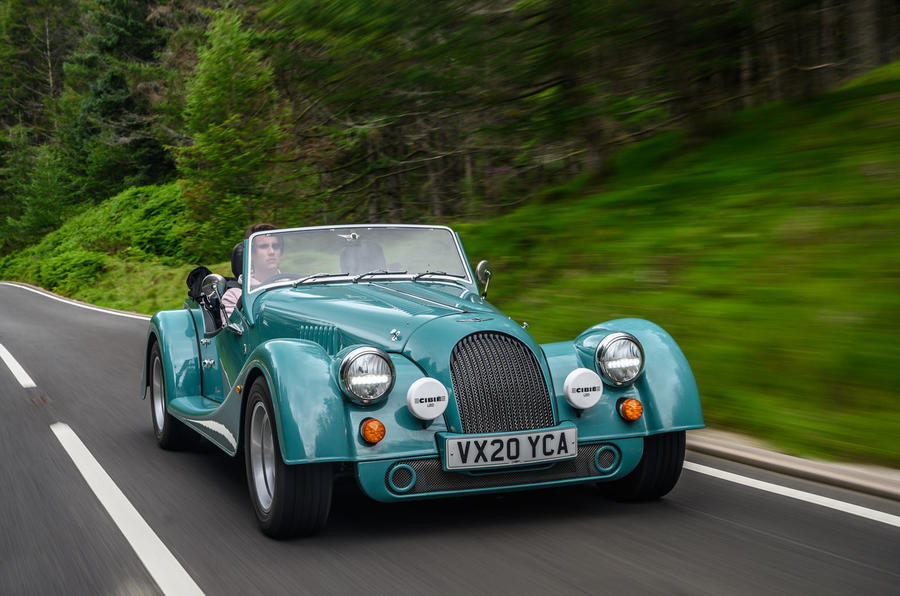 Morgan Plus Four 2020 road test review - hero front