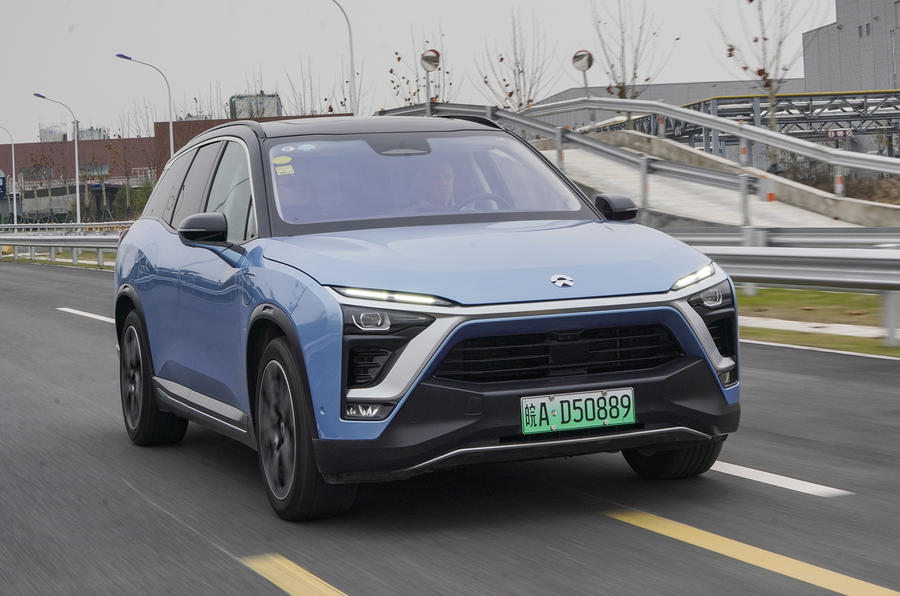 Nio ES8 road test review - hero front