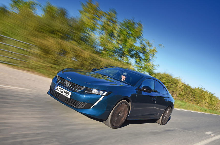 Peugeot 508 2018 road test review - hero front