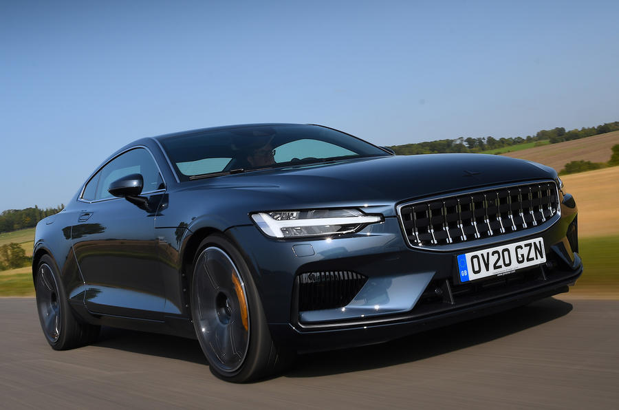 Polestar 1 2020 road test review - hero front