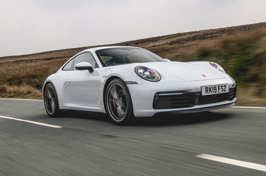 Porsche 911 Carrera S 2019 road test review - hero front