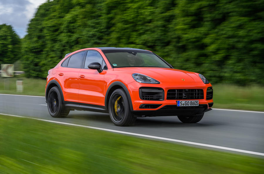 Porsche Cayenne Coupé 2019 review - hero front