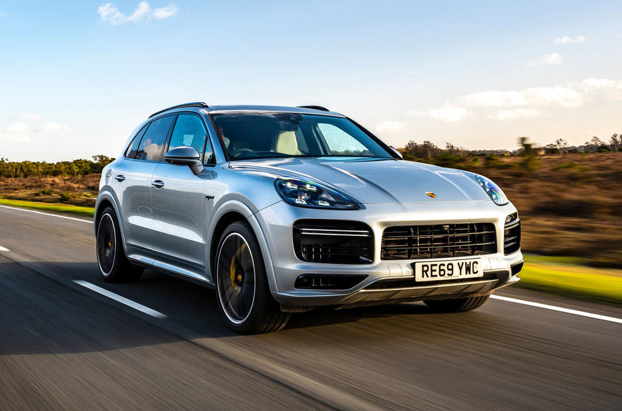 Porsche Cayenne Turbo S E-Hybrid road test review - hero front
