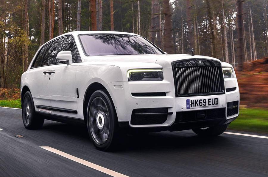 Examen de l'essai routier de la Rolls Royce Cullinan 2020 - le front des héros