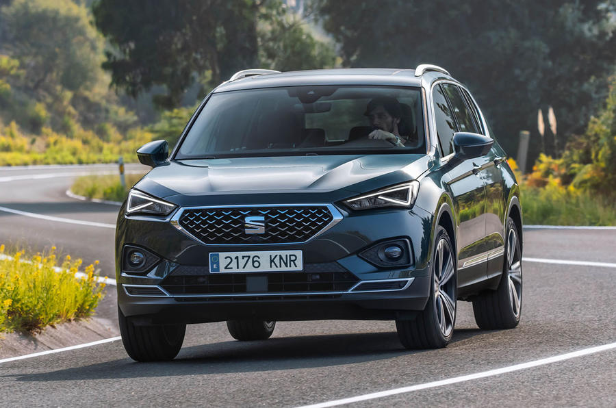 Seat Tarraco 2018 review - hero front