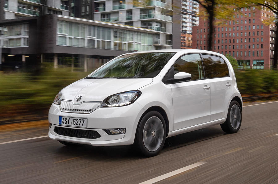 SKoda Citigo-e IV 2020 road test review - hero front