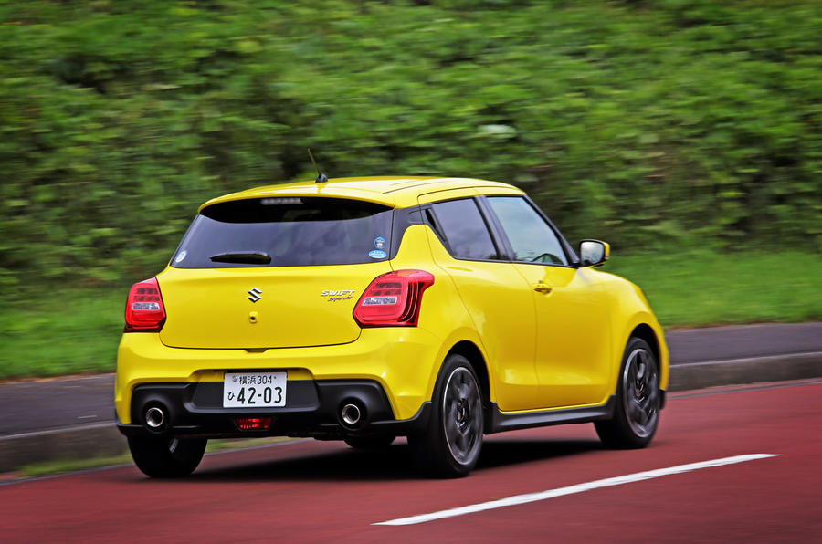 Suzuji Swift Sport Japan-spec review rear