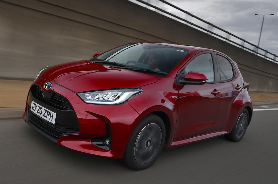 Examen de l'essai routier de la Toyota Yaris 2020 - le front des héros