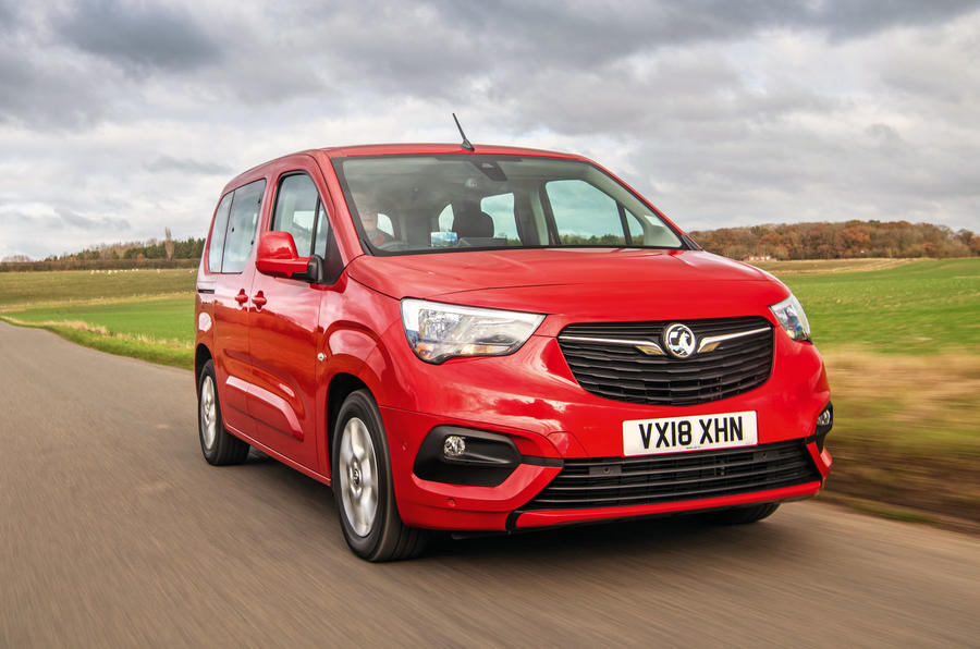 7950e102761a7c Vauxhall Combo Life 2018 road test review - hero front ...