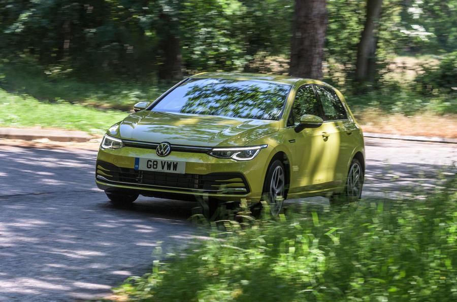Volkswagen Golf 2020 road test review - hero front