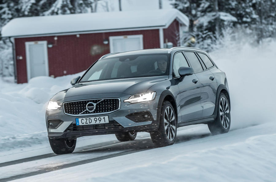 למעלה Volvo V60 Cross Country Review (2019) | Autocar BN-53