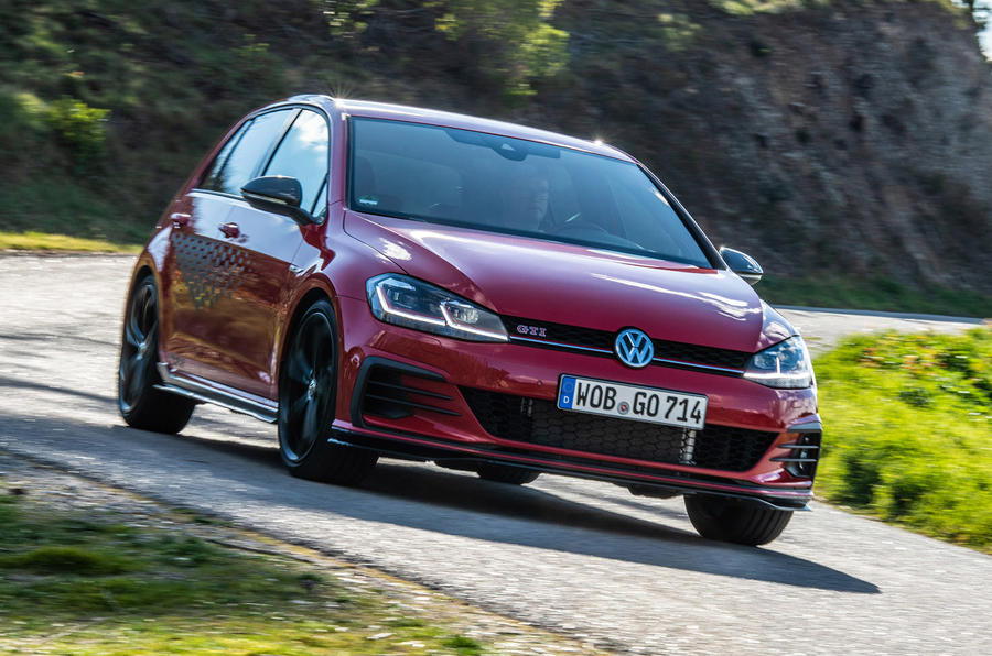 Volkswagen Golf GTI TCR 2019 road test review - hero front