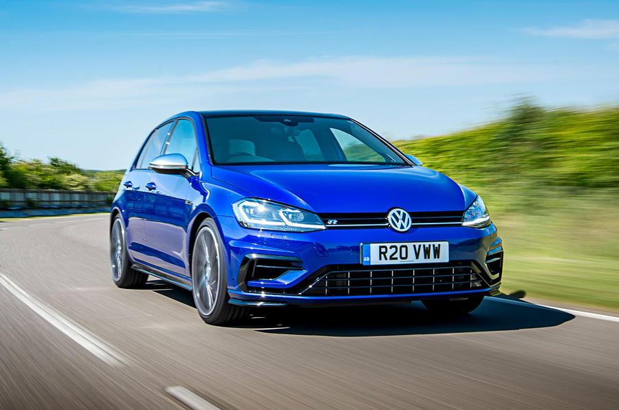 Volkswagen Golf R 2019 road test review - hero front