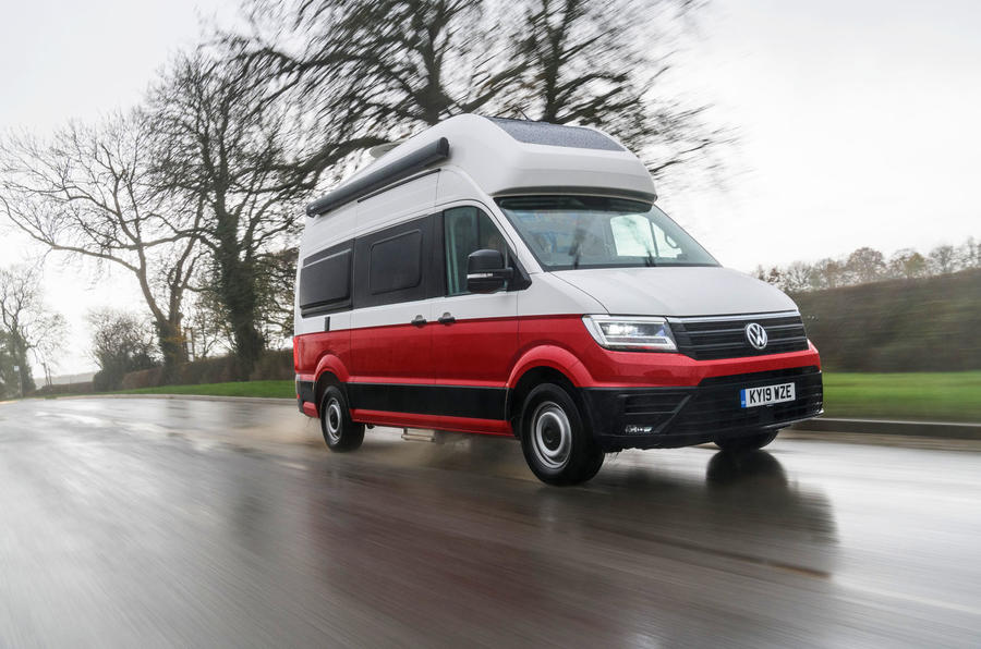 Volkswagen Grand California 2020 road test review - hero front