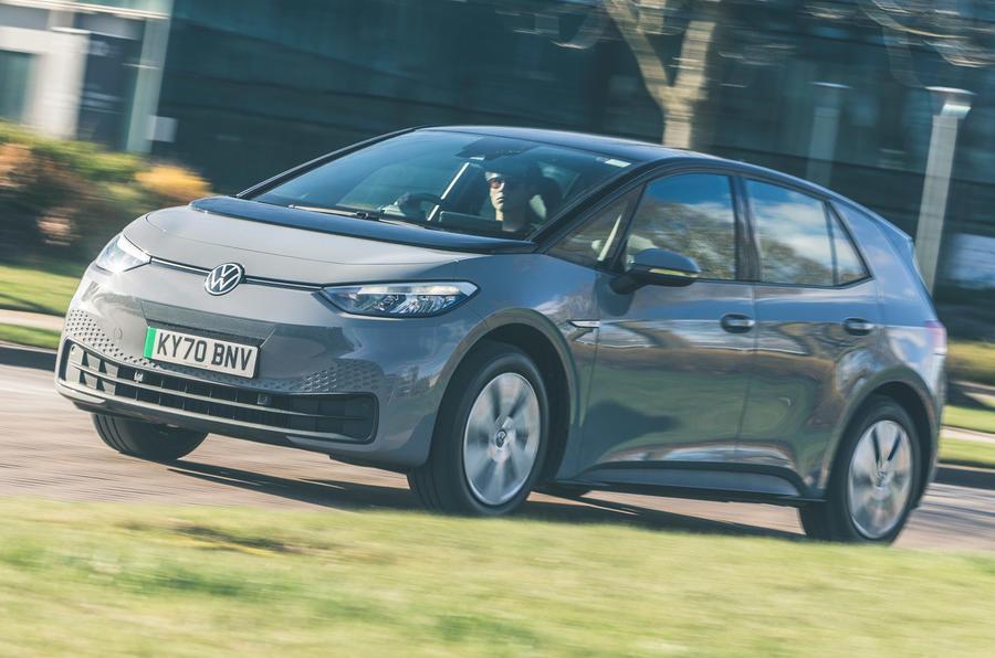 1 VW ID 3 2021 essai routier critique héros avant