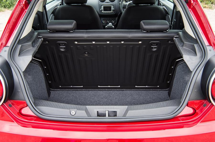 Alfa Romeo Mito review boot space