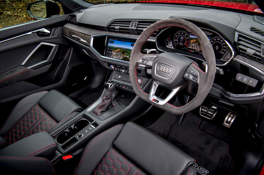 Audi RS Q3 2020 road test review - cabin