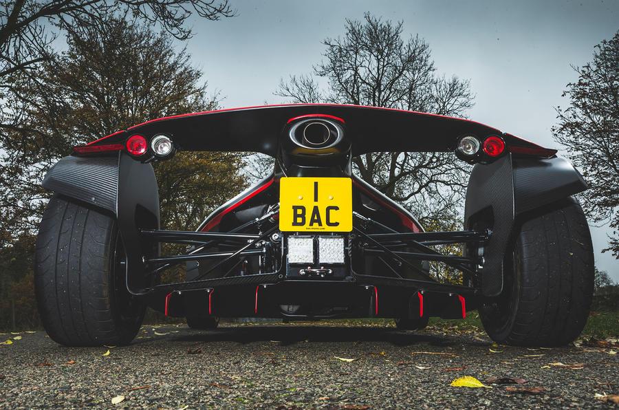 BAC Mono 2018 review - exhaust