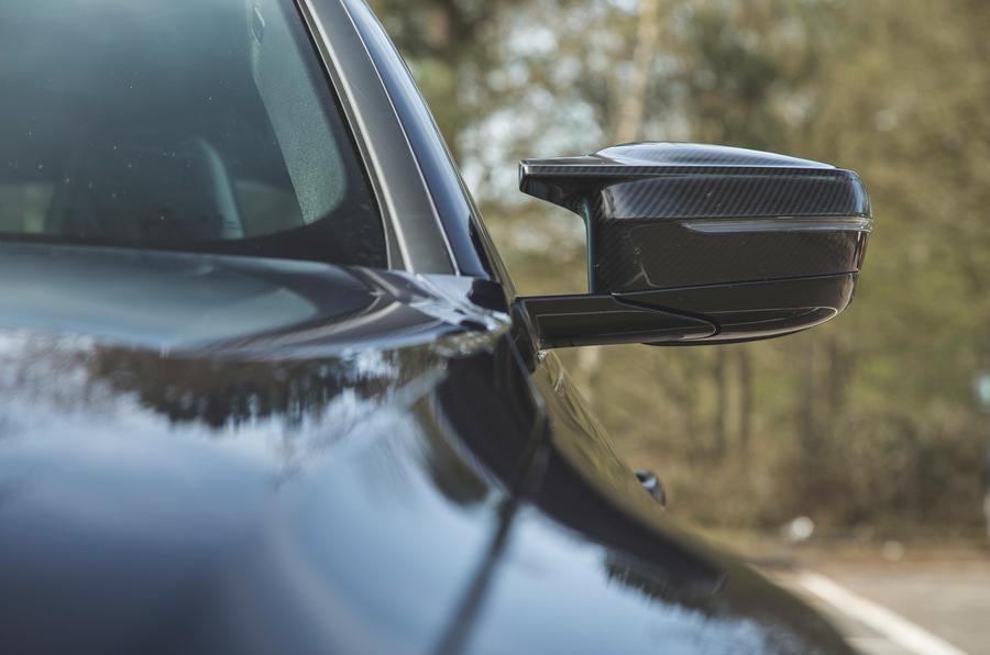 10 BMW M4 Competition 2021 RT miroir d'aile
