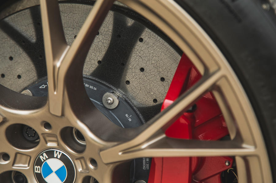 10 BMW M5 CS 2021 RT disques de frein