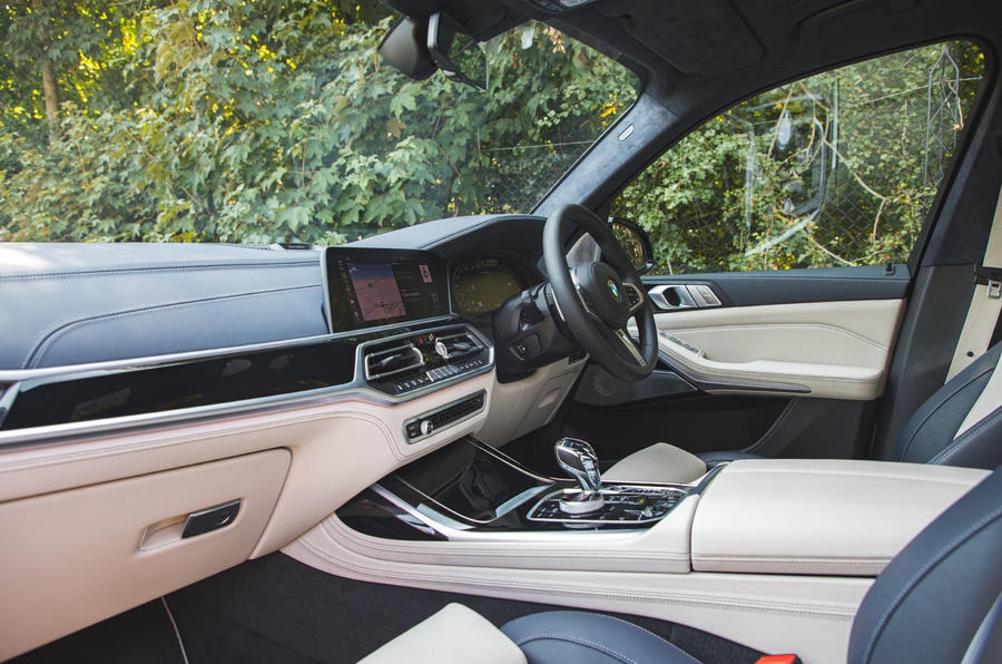 BMW X7 2020 road test review - cabin