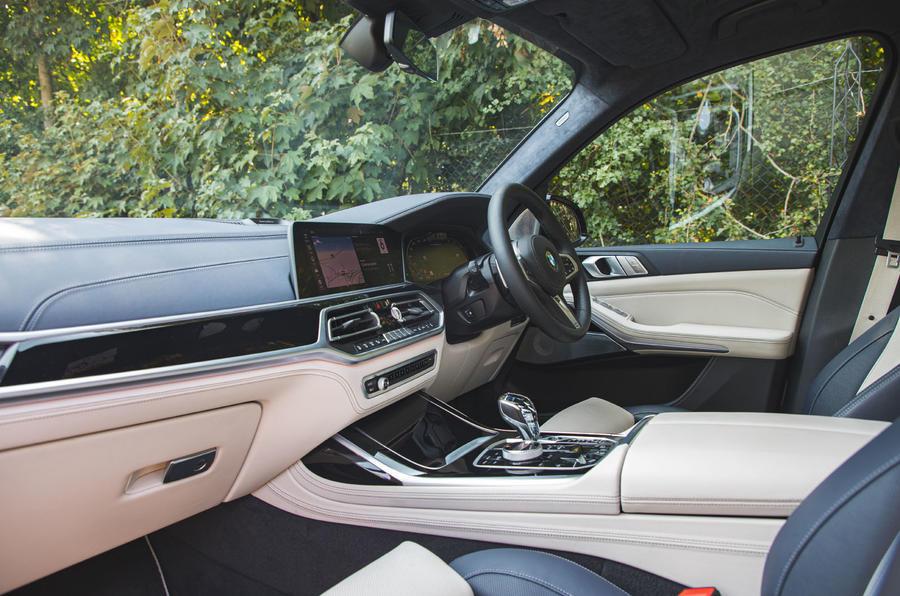 BMW X7 2020 : examen de l'essai routier - cabine