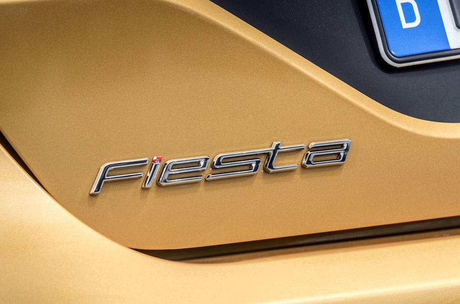 Ford Fiesta Active 2018 road test review Fiesta badge