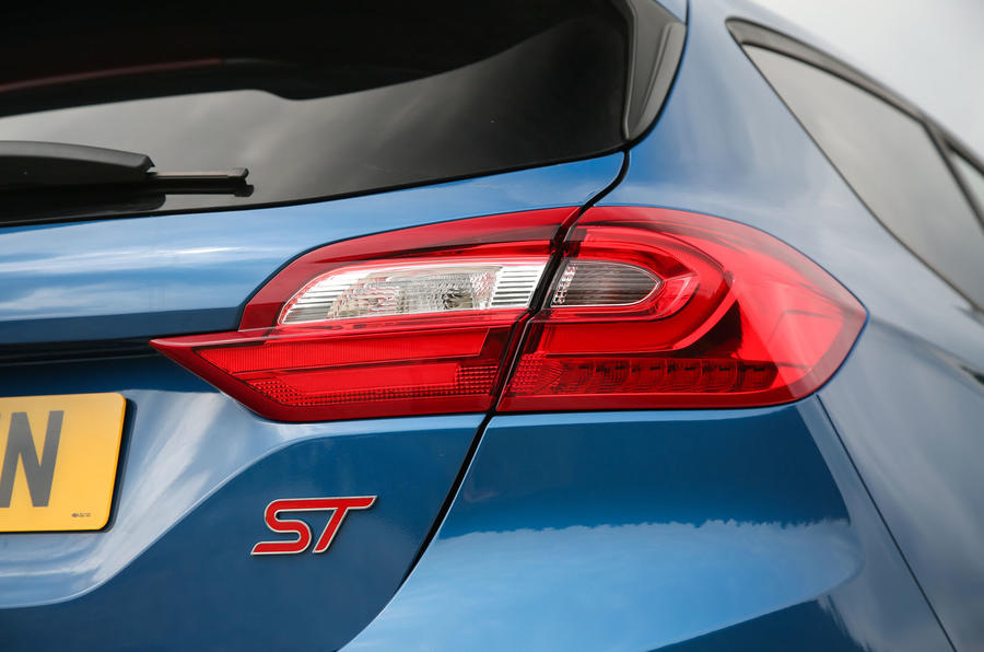 Ford Fiesta ST 2018 road test review rear lights