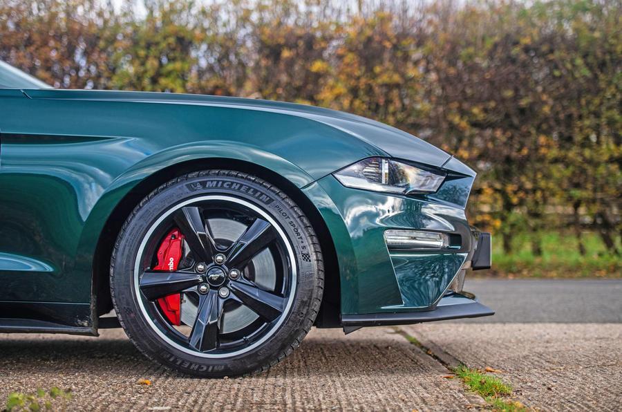 Ford Mustang Bullitt 2018 road test review - alloy wheels