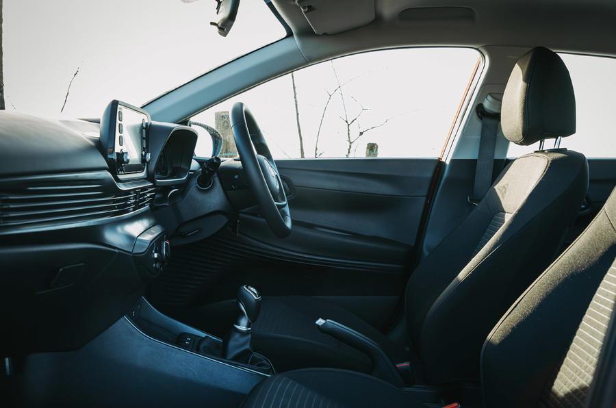 10 Hyundai i20 2021 cabine d'examen pour l'essai routier