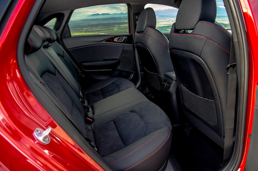Kia Ceed GT 2019 road test review - rear seats