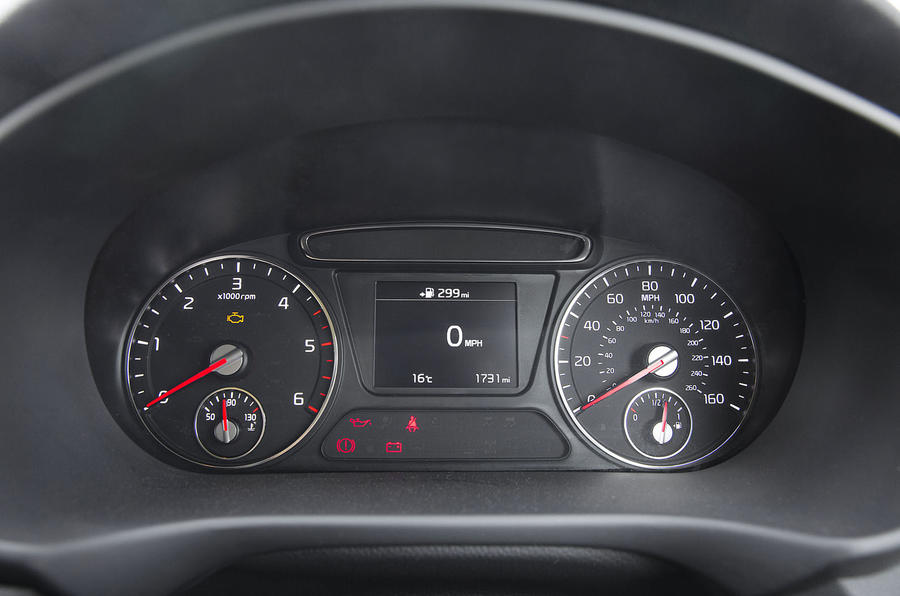 Kia Sorento 2018 road test review instrument cluster