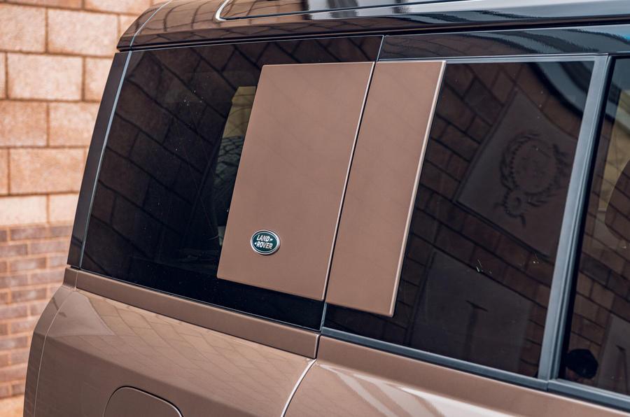 Land Rover Defender 2020 : examen de l'essai routier - encadré