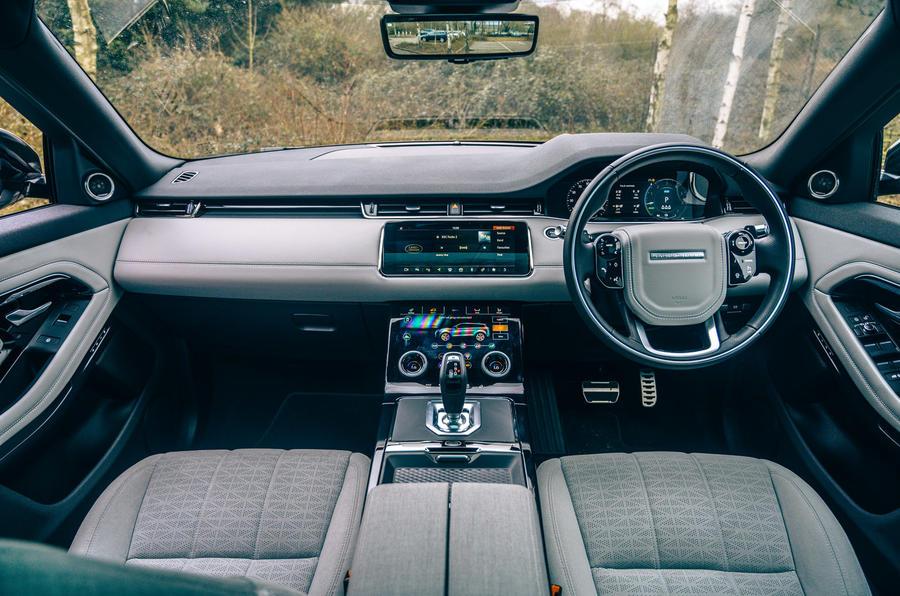 10 Land Rover Range Rover Evoque 2021 : tableau de bord de l'essai routier