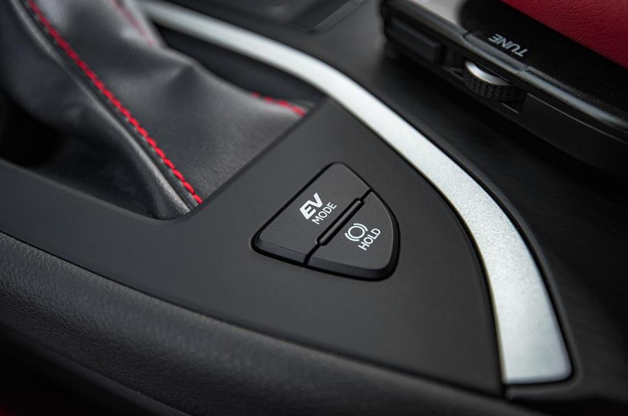 Lexus UX 2019 road test review - EV mode