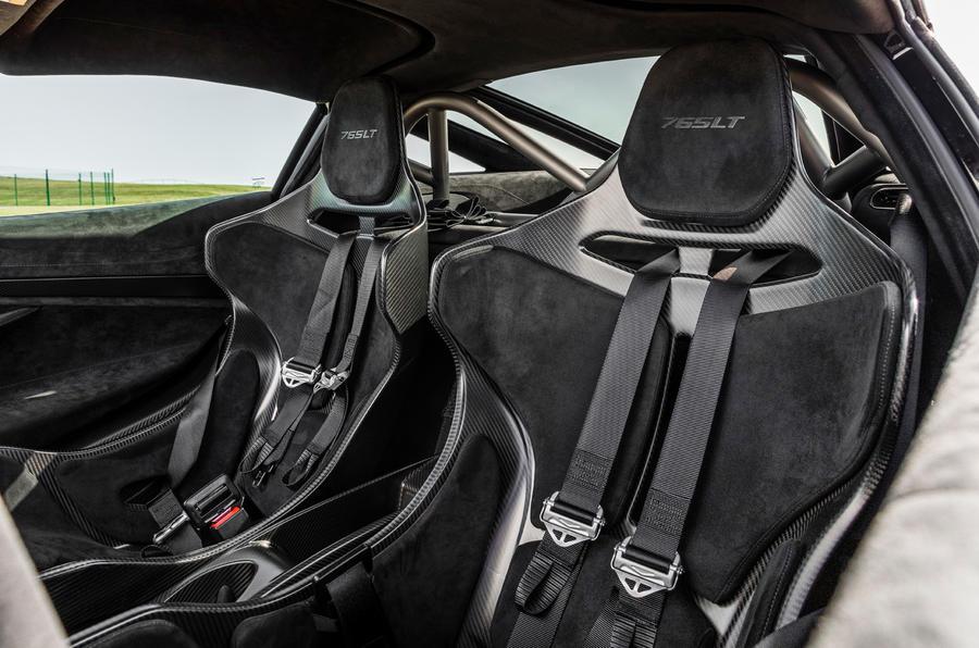 McLaren 765LT 2020 road test review - cabin
