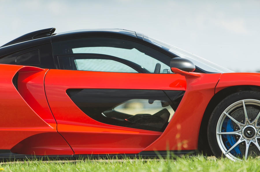 McLaren Senna 2018 road test review - doors