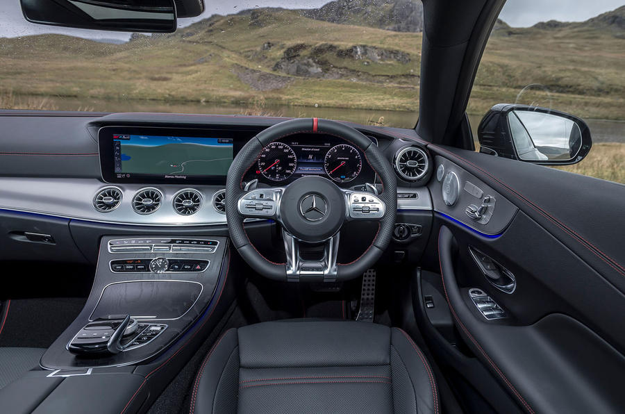 Mercedes-AMG E53 2018 review - dashboard