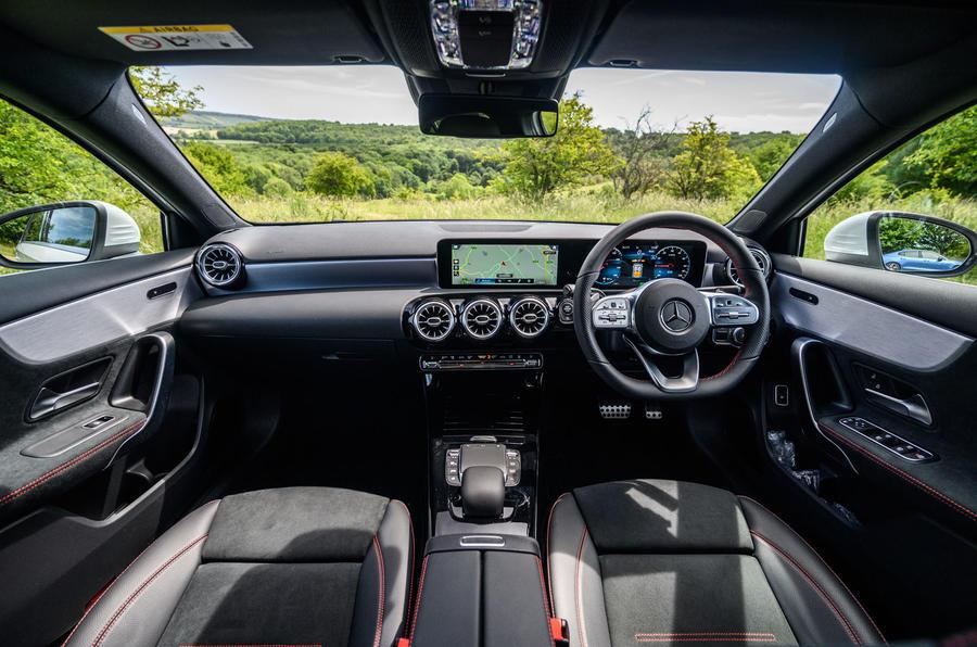 Mercedes-Benz A250e 2020 road test review - dashboard