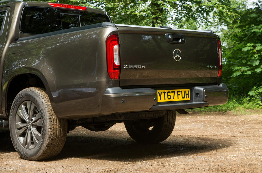 Mercedes-Benz X-Class road test review rear end