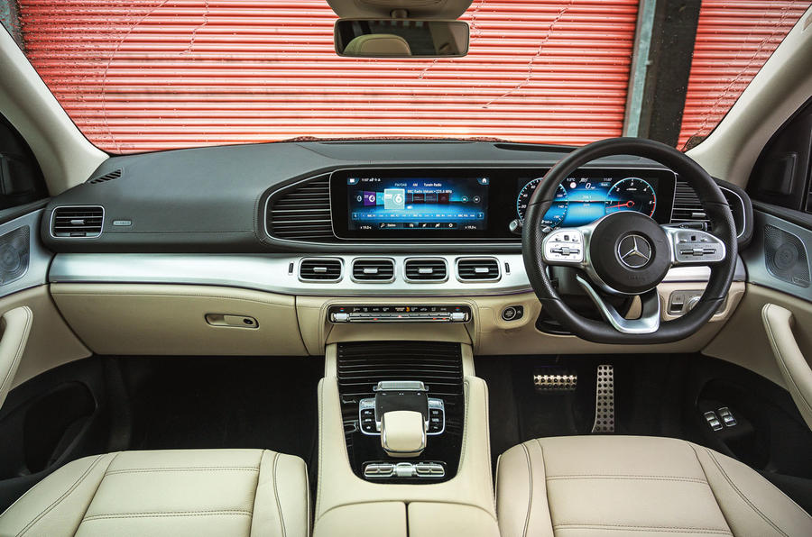 Mercedes-Benz GLS 2020 road test review - dashboard