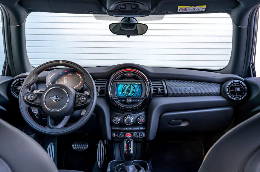 Mini JCW GP 2020 road test review - cabin